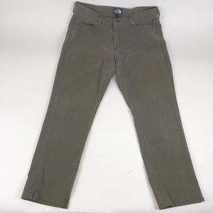 The North Face 36x30 Olive Green Corduroy Pants